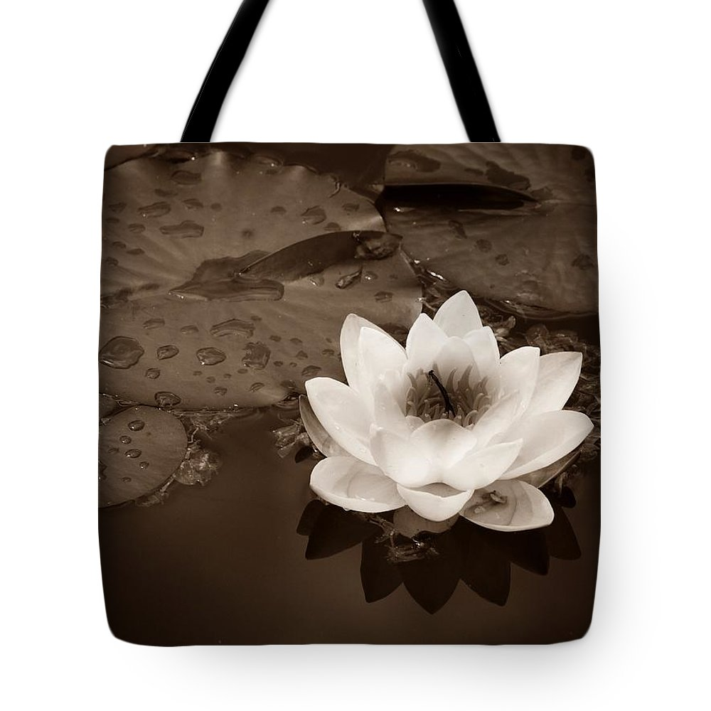 Lily Tote Bag featuring the photograph June 19 2010 by Tara Turner