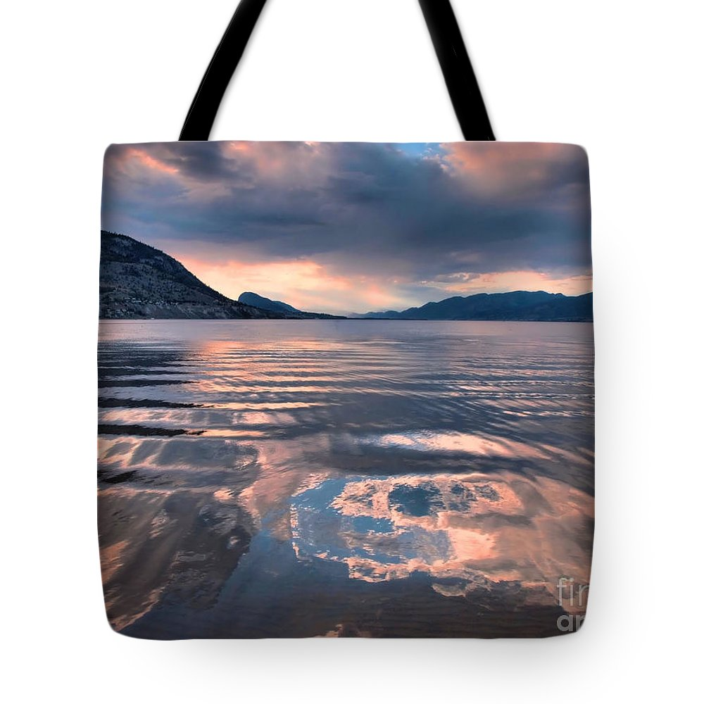 Sunset Tote Bag featuring the photograph June 22 2010 by Tara Turner