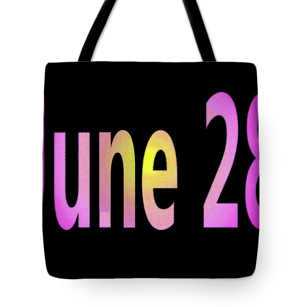 June Tote Bag featuring the digital art June 28 by Day Williams
