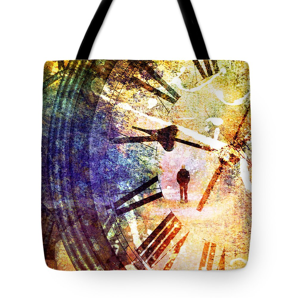 Clock Tote Bag featuring the photograph June 5 2010 by Tara Turner