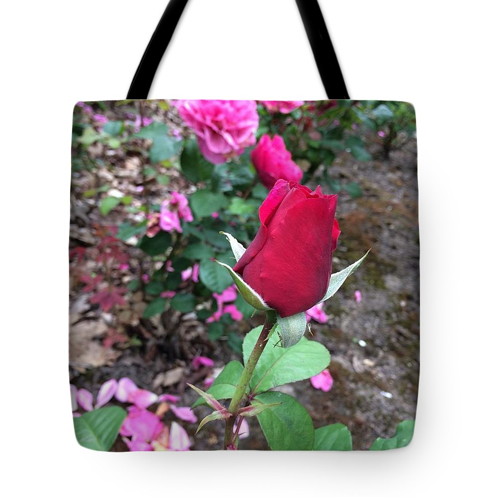 Tote Bag featuring the photograph June Rose #2 by Jordan Butterfield