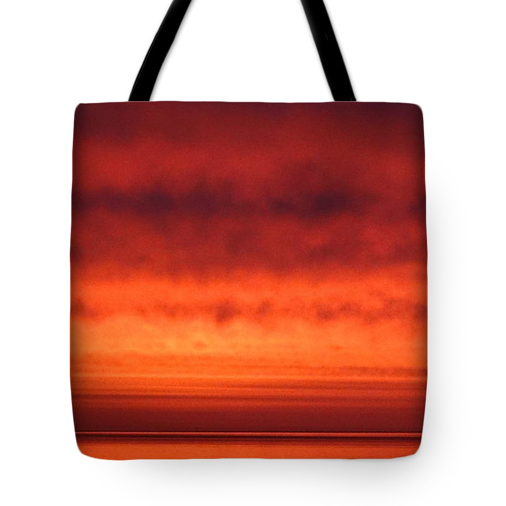 Skyscape Tote Bag featuring the photograph June Sunrise 2017 by Nicola Graham