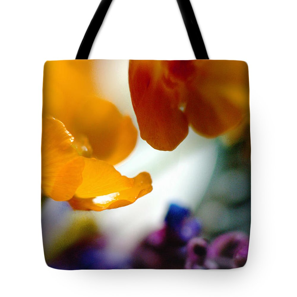 Flowers Tote Bag featuring the photograph Just As It Is... by Arthur Miller