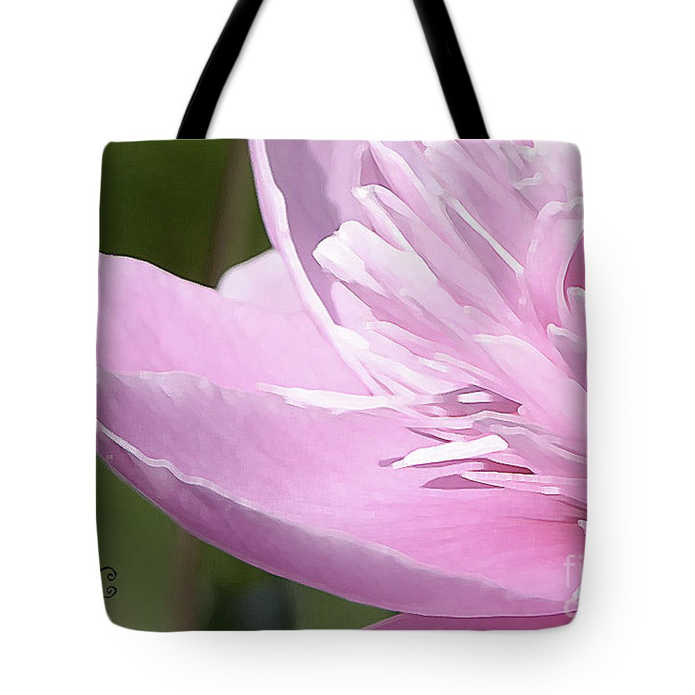 Peony Tote Bag featuring the photograph Just Because by Traci Cottingham