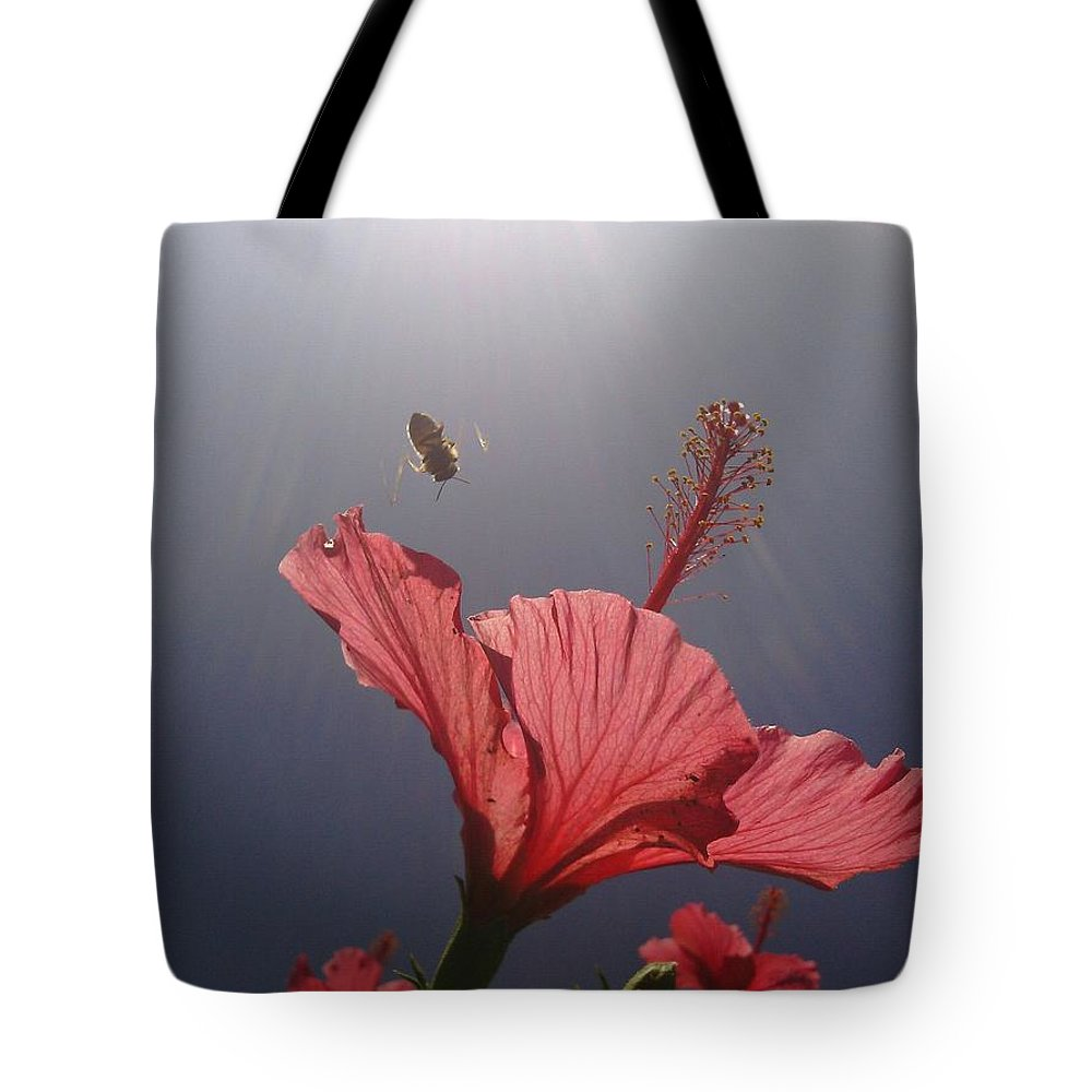 Pollen Tote Bag featuring the photograph Just Bee You by Clifford Purify