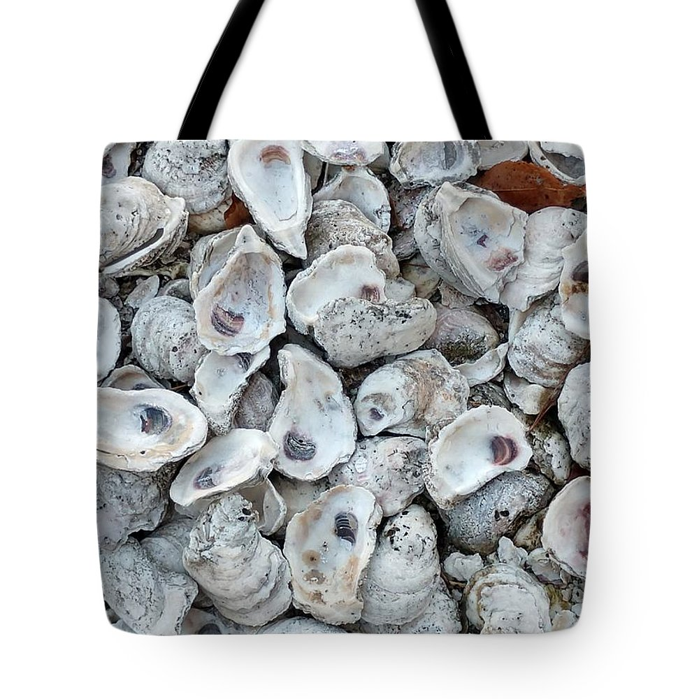 Shells Tote Bag featuring the photograph Just For The Shell Of It by Nancy Turner