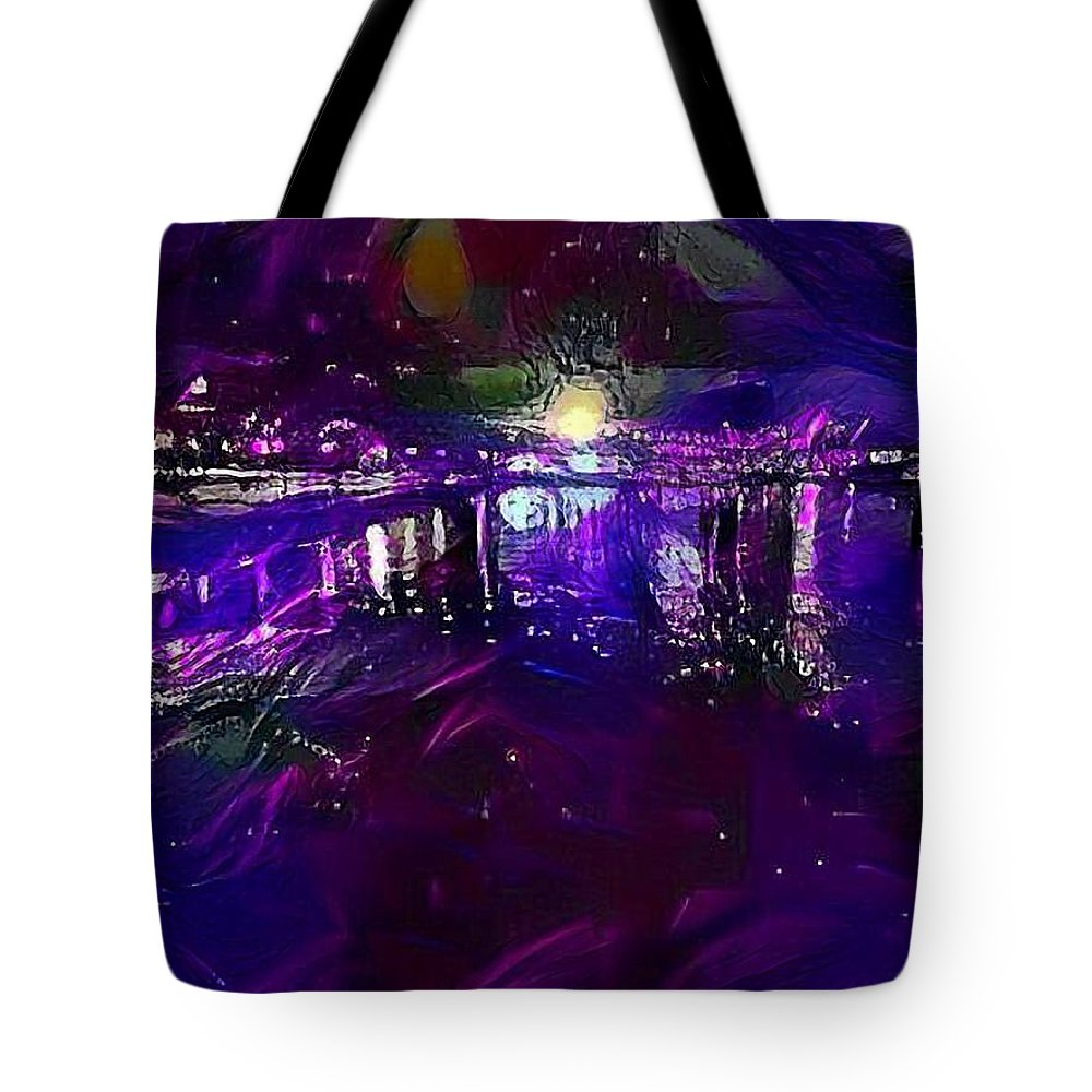 Tote Bag featuring the mixed media Just Like Gatsby by Zachary Mueller