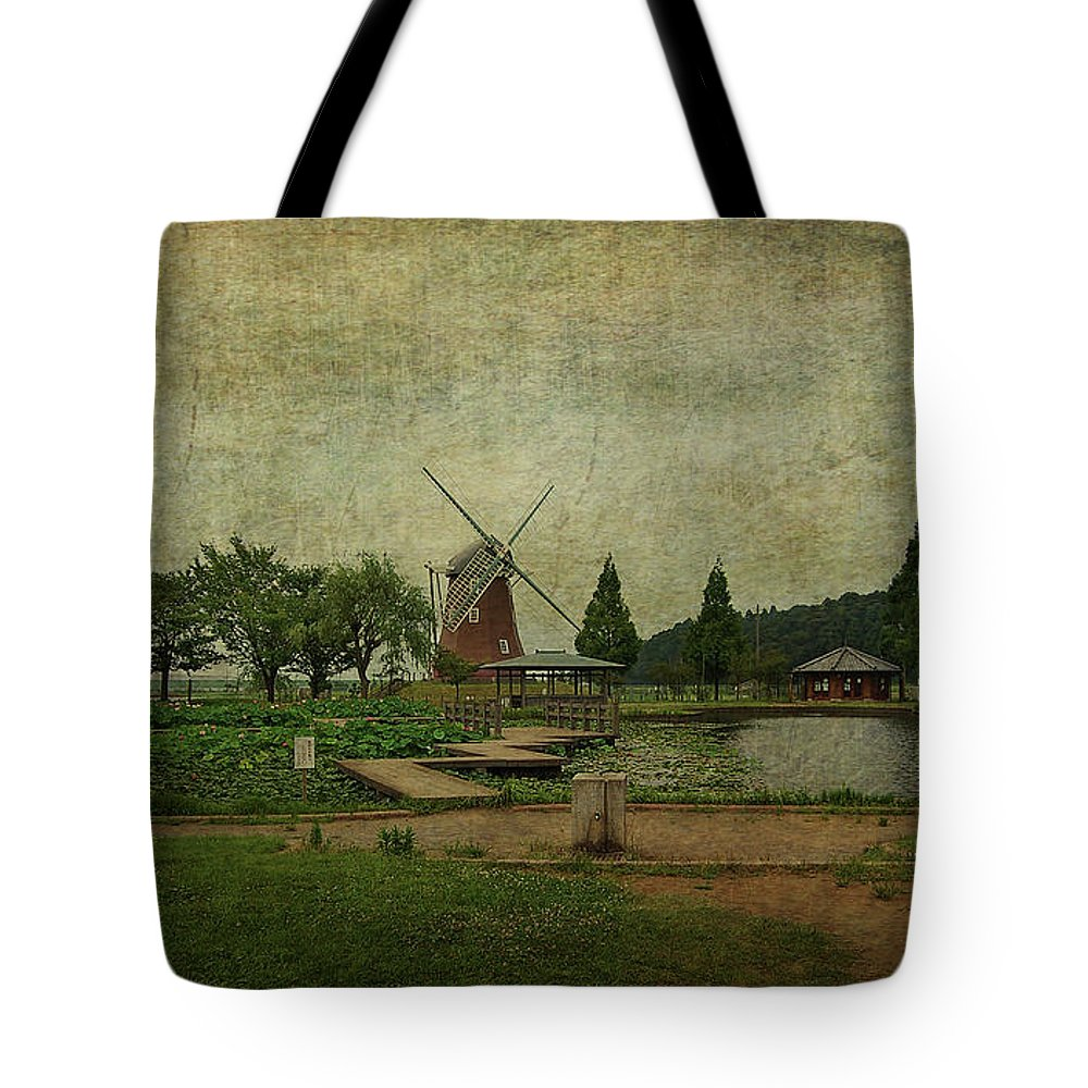 Windmill Tote Bag featuring the photograph Just Like Old Times by Eena Bo