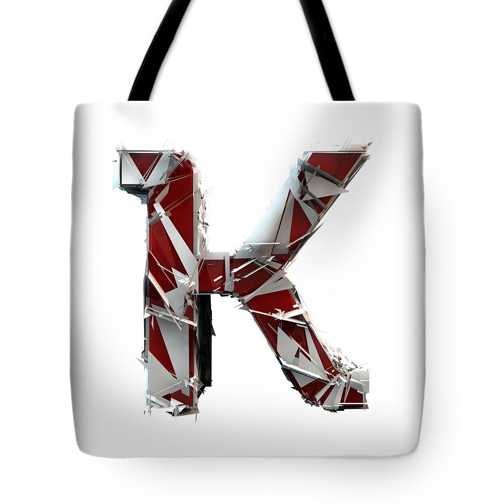 Alphabet Tote Bag featuring the photograph K Is For King by Gary Keesler