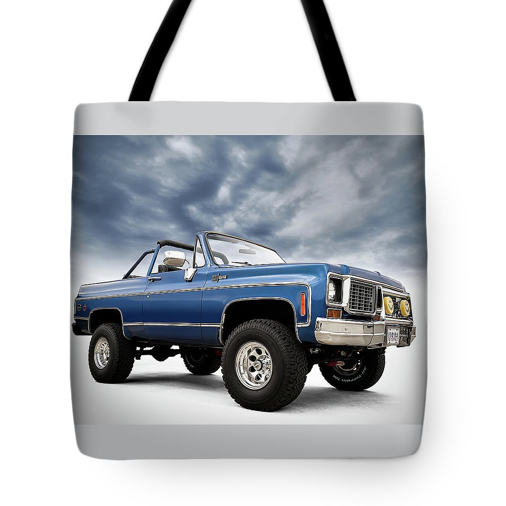 Classic Tote Bag featuring the digital art K5 Blazer by Douglas Pittman