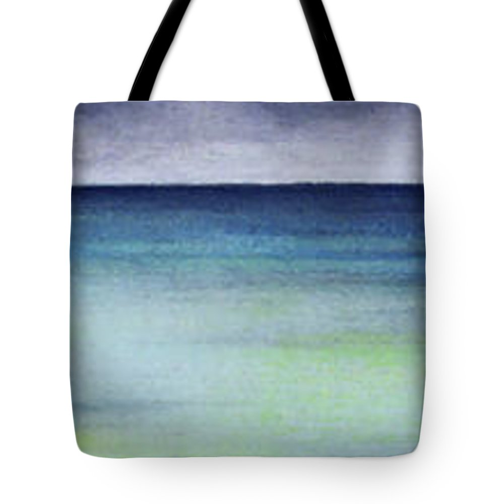 Hawaii Tote Bag featuring the painting Kaaawa by Kevin Smith