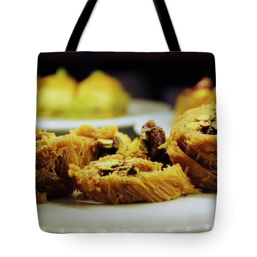 Kadayif Tote Bag featuring the photograph Kadayif by Happy Home Artistry