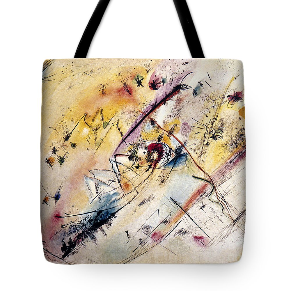 1913 Tote Bag featuring the photograph Kandinsky: Light, 1913 by Granger
