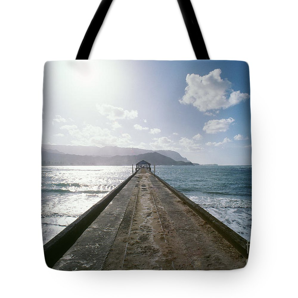 Afternoon Tote Bag featuring the photograph Kauai, Hanalei Bay by Greg Vaughn - Printscapes