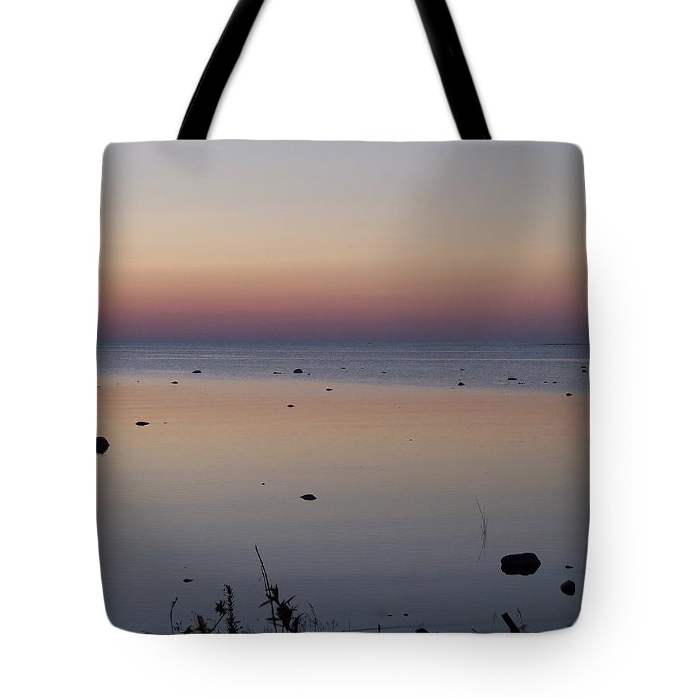 Canada Tote Bag featuring the photograph Kettle Point Sunset by Michelle Miron-Rebbe