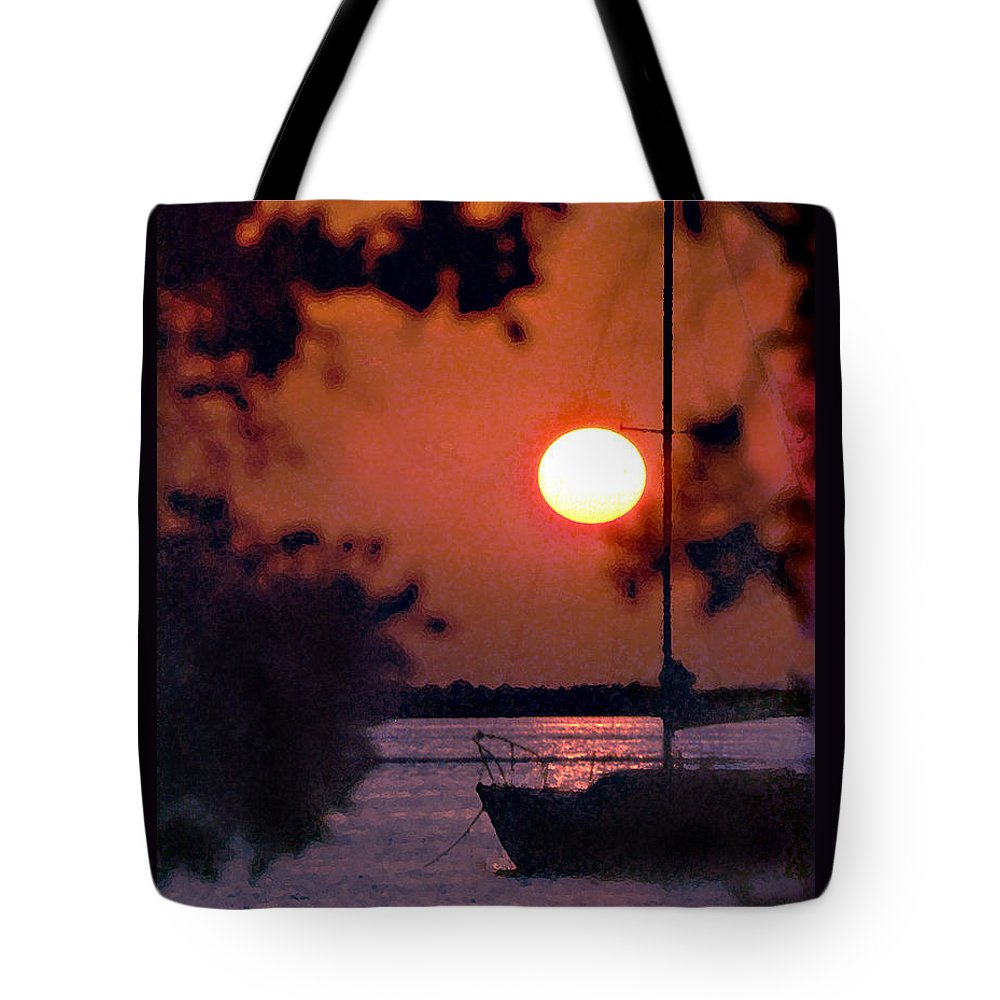 Seascape Tote Bag featuring the photograph Key Largo by Steve Karol