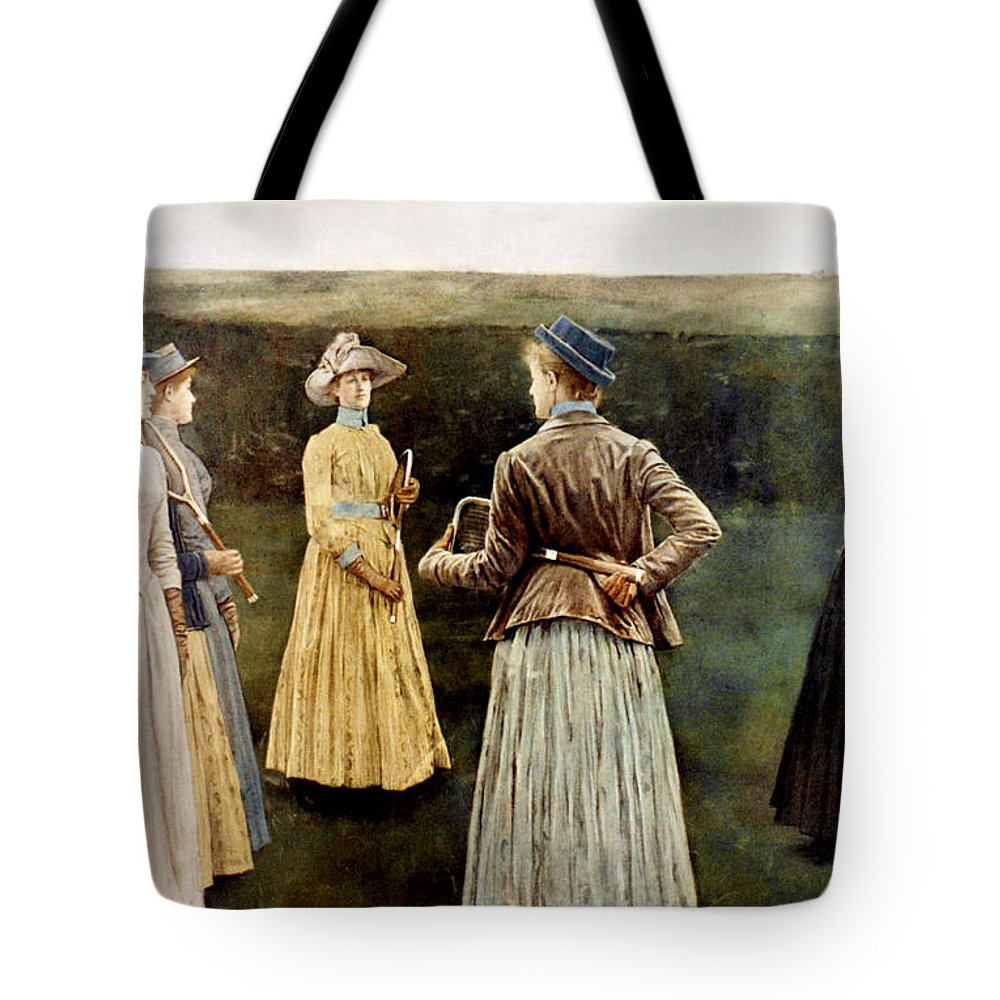 1889 Tote Bag featuring the photograph Khnopff: Memoires, 1889 by Granger