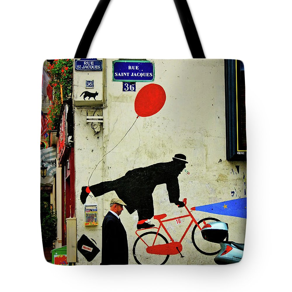 Paris Tote Bag featuring the photograph Kick In The Head by Skip Hunt