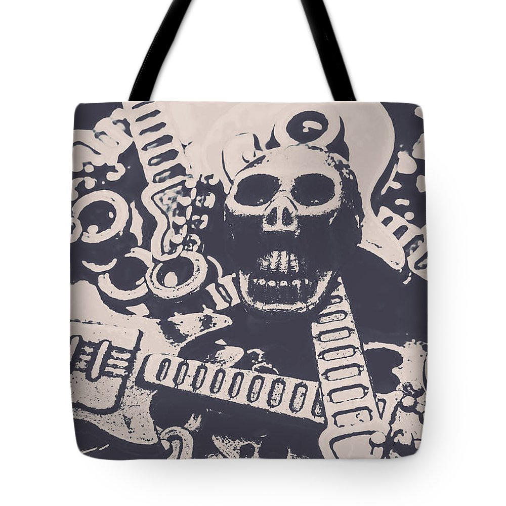 Skull Tote Bag featuring the photograph Kill The Music Industry by Jorgo Photography - Wall Art Gallery