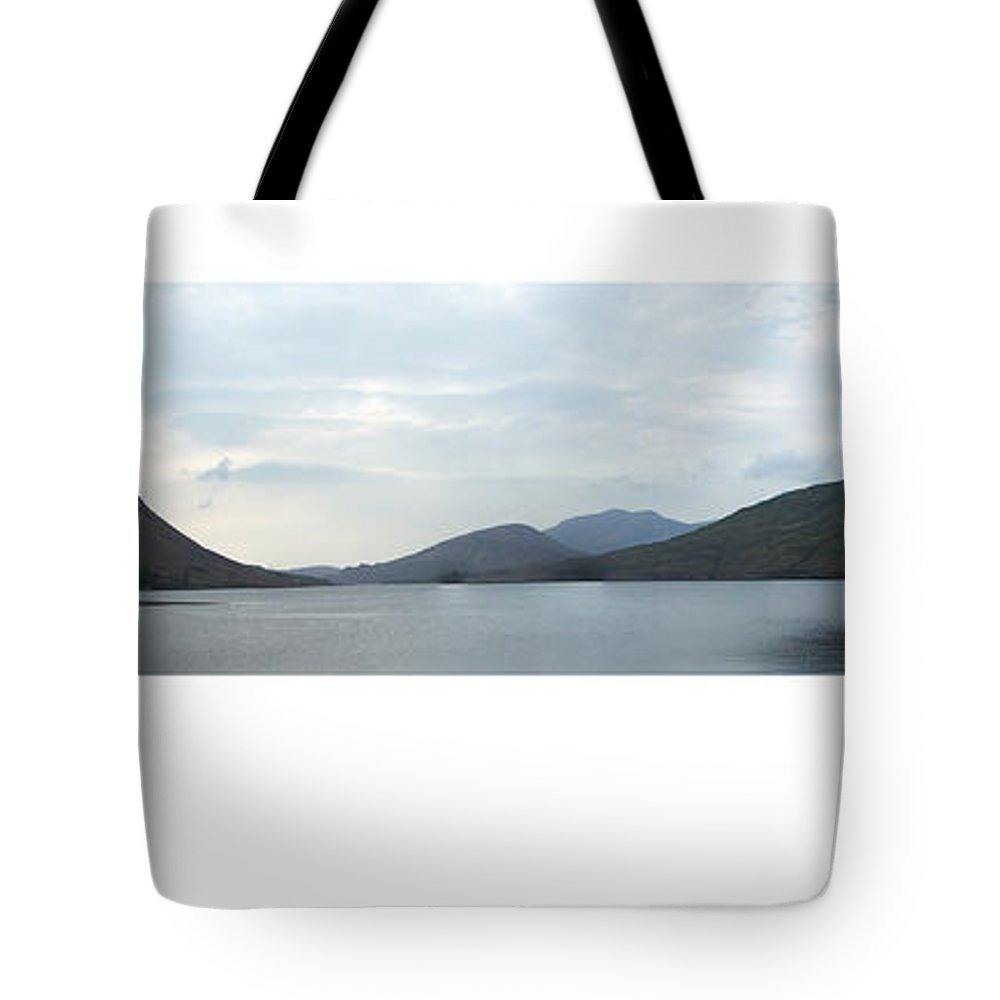 Landscape Tote Bag featuring the photograph Killary Harbour Leenane Ireland by Teresa Mucha