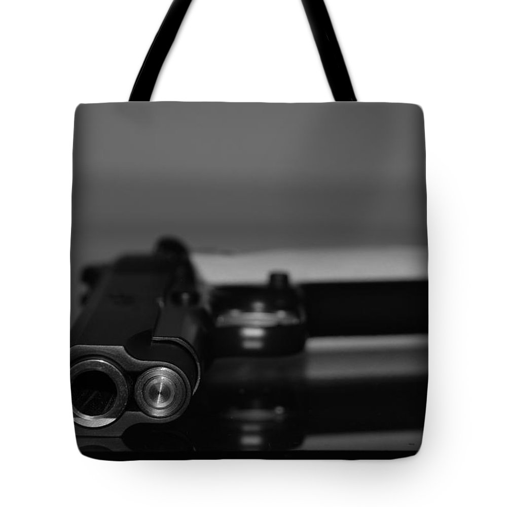 45 Auto Tote Bag featuring the photograph Kimber 45 by Rob Hans