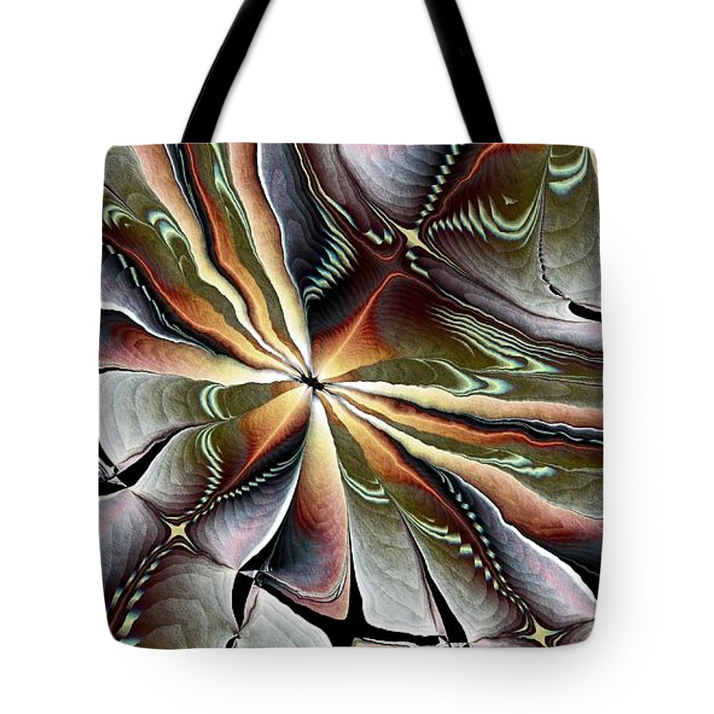 Fractals Tote Bag featuring the photograph Kindred Spirit by Kim Redd