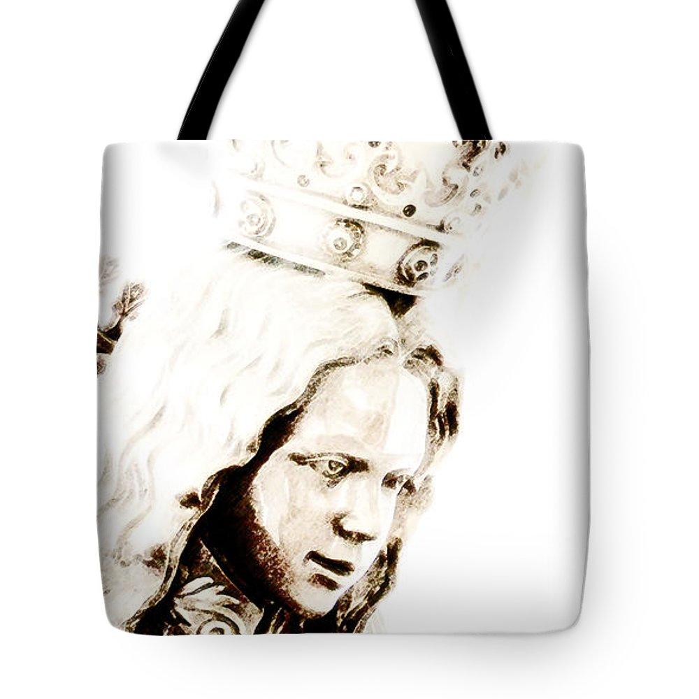 Prince Of Peace Tote Bag featuring the photograph King Of Kings And Lord Of Lords by Linda Shafer