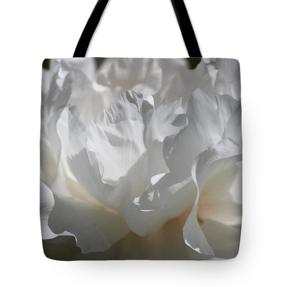 Peony Tote Bag featuring the photograph King Of The Flowers by Iryna Goodall