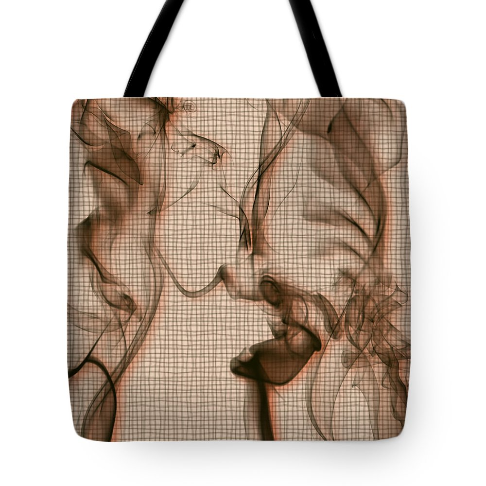 Clay Tote Bag featuring the digital art Kitchen Problems by Clayton Bruster