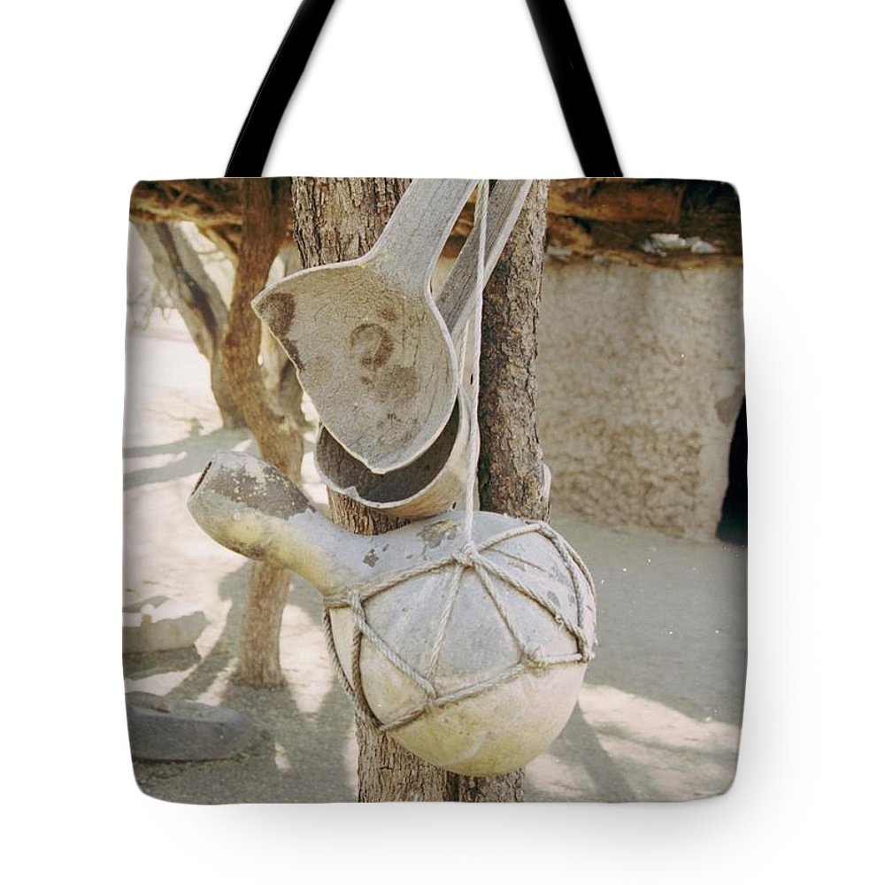 Tumacacori Tote Bag featuring the photograph Kitchen Utensils by Kathy McClure