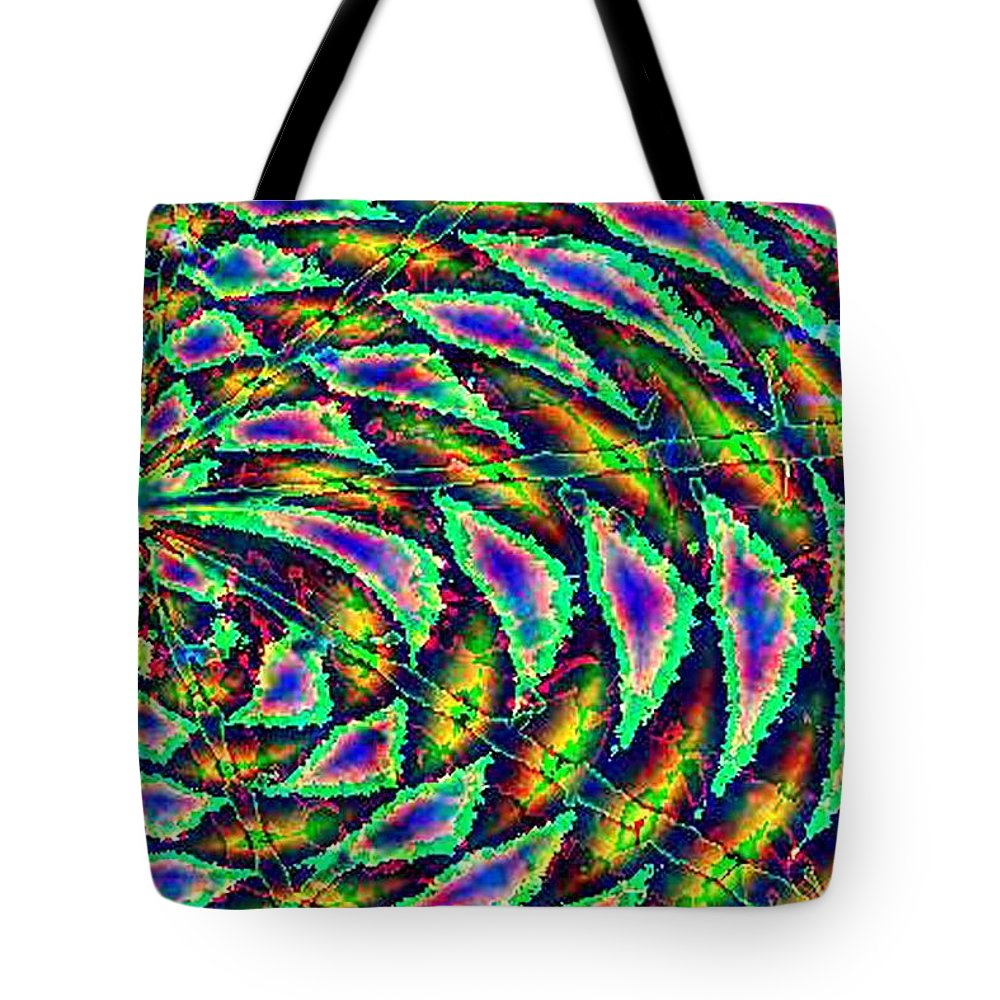 Computer Art Tote Bag featuring the digital art Kiwi by Dave Martsolf