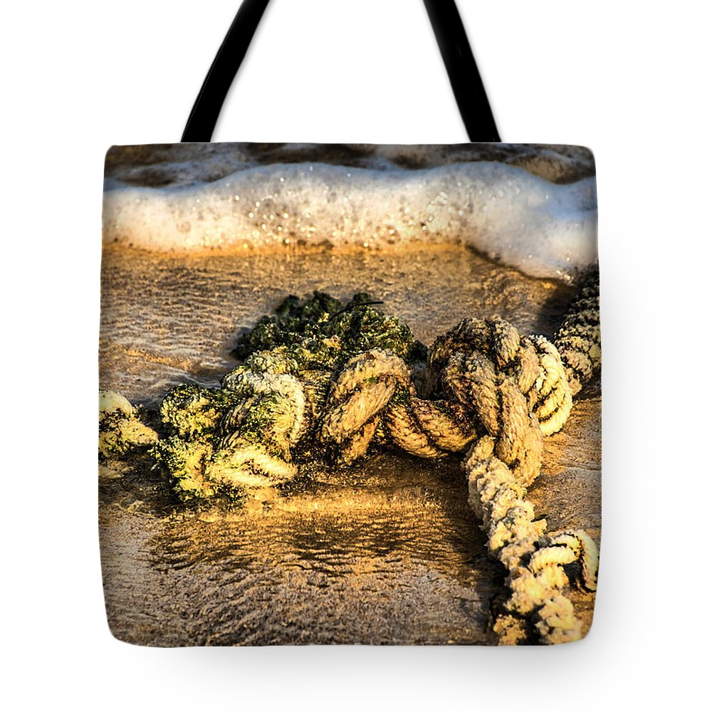 Cuba Tote Bag featuring the photograph Knot Again... by Chroma Photographer