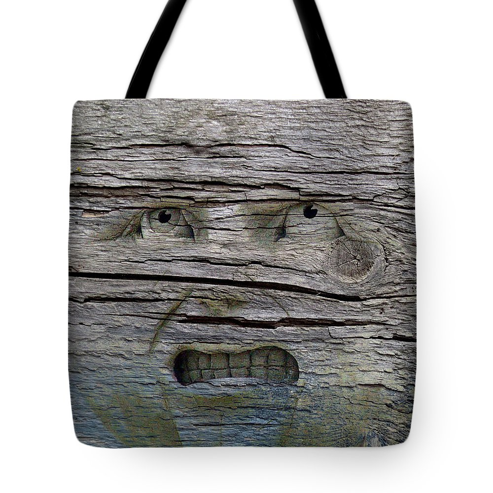 Humor Tote Bag featuring the photograph Knot Happy by Jan Amiss Photography