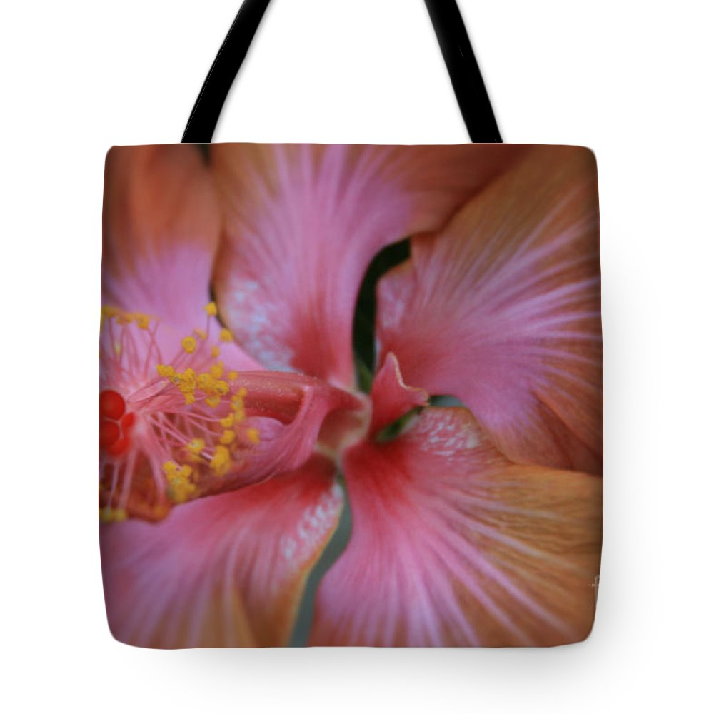 Aloha Tote Bag featuring the photograph Ko Aloha Aloalo Echoes Of The Soul Exotic Tropical Hibiscus Kula Maui Hawaii by Sharon Mau