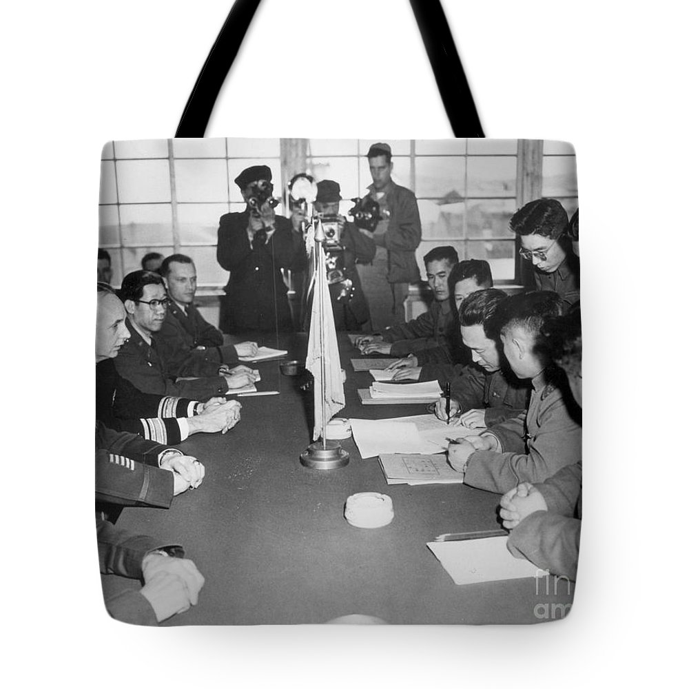 1953 Tote Bag featuring the photograph Korean War, 1953 by Granger