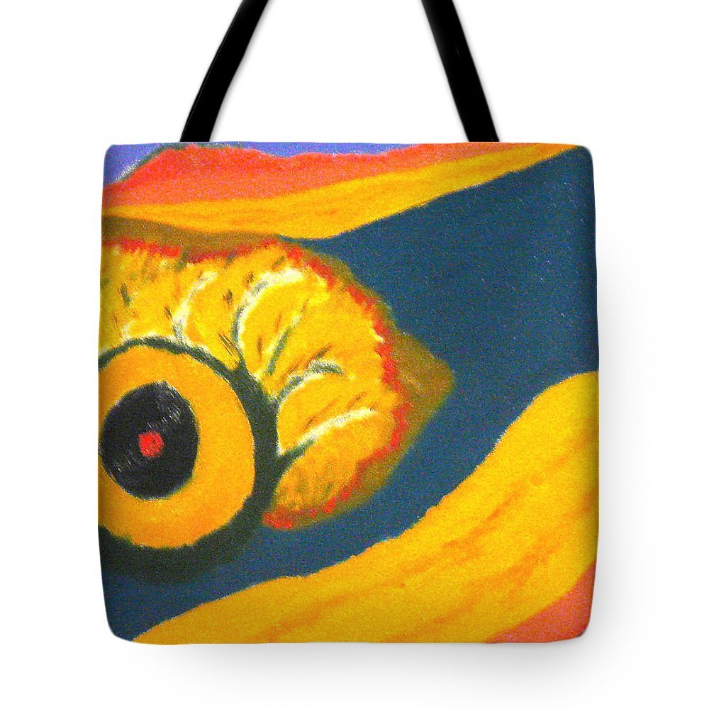 Tote Bag featuring the painting Krshna by R B