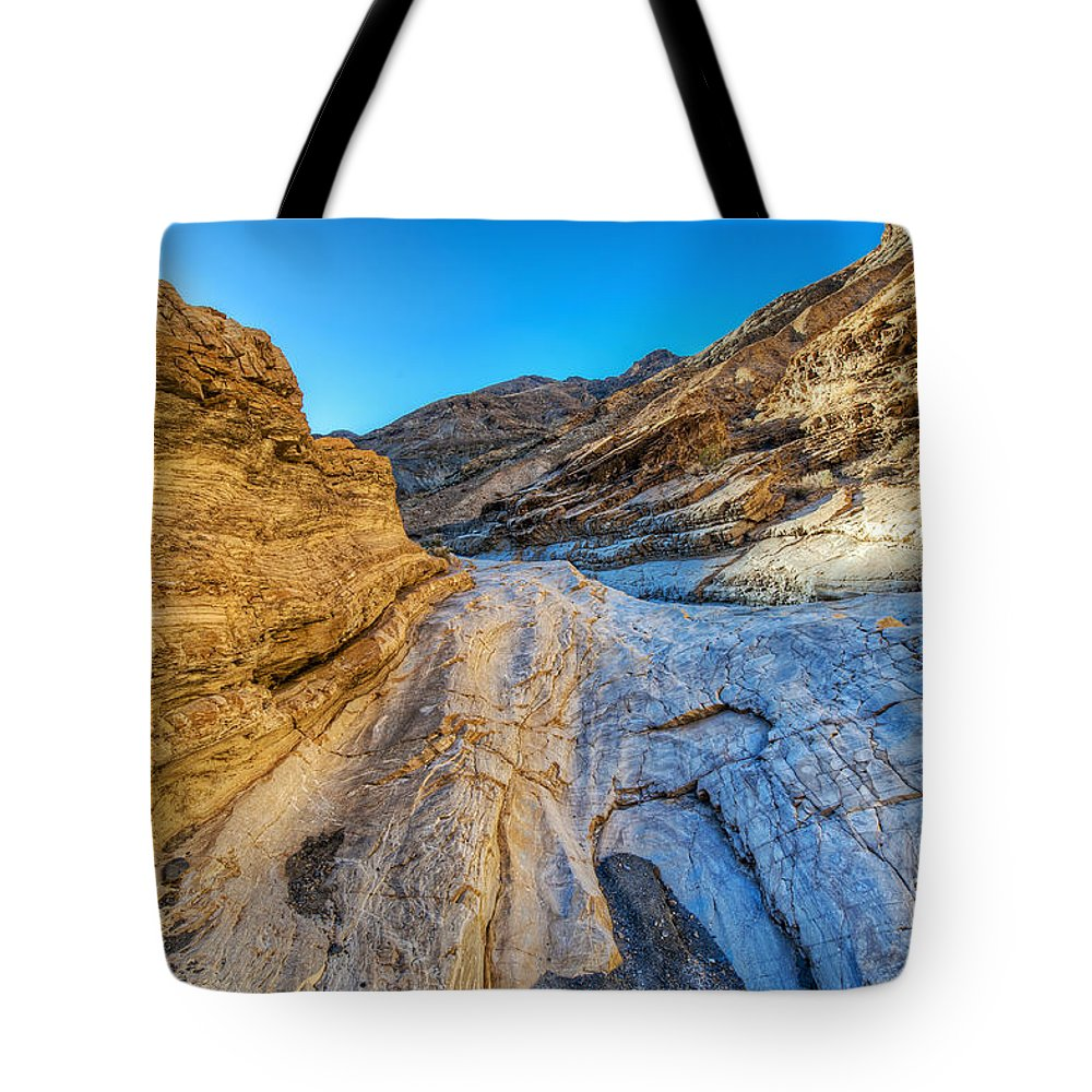 Art Tote Bag featuring the photograph L A Y E R S by Charles Dobbs