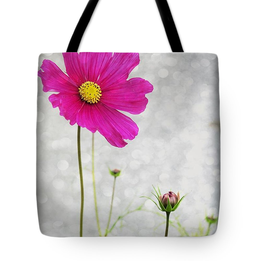 Flower Tote Bag featuring the photograph L Elancee by Variance Collections