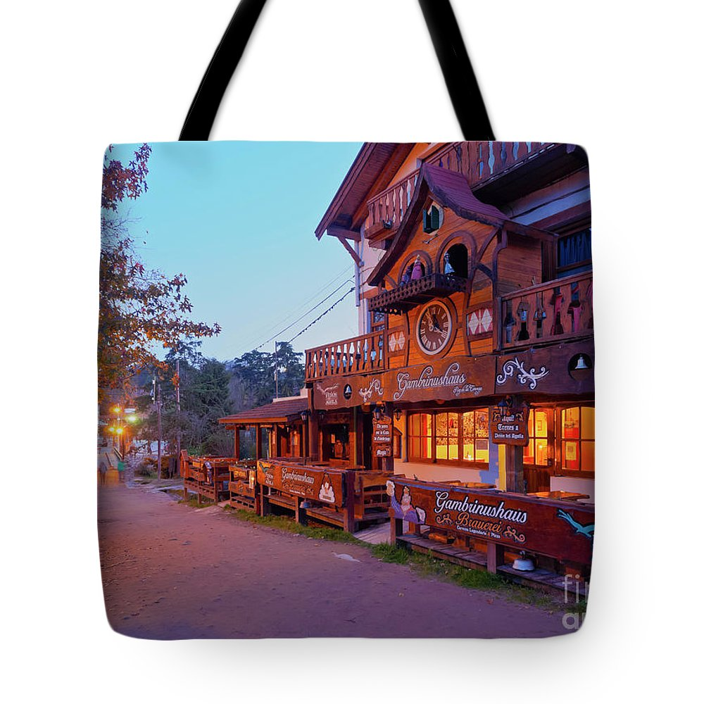 South America Tote Bag featuring the photograph La Cumbrecita, Argentina by Karol Kozlowski