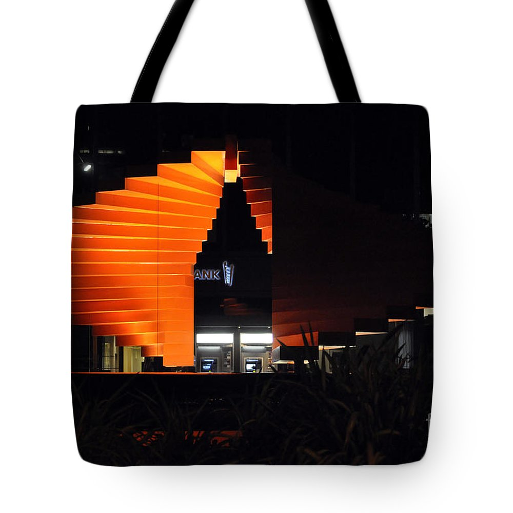 Clay Tote Bag featuring the photograph L.a. Nights by Clayton Bruster