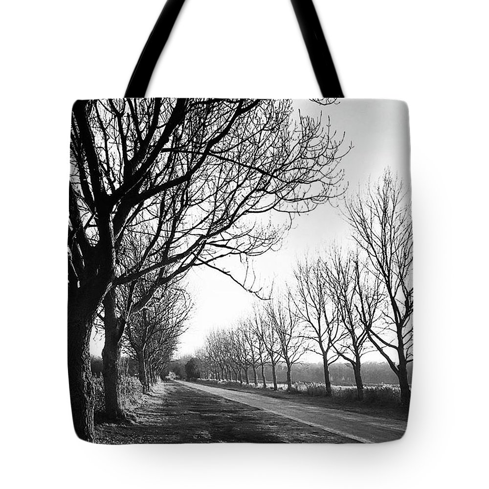 Natureonly Tote Bag featuring the photograph Lady Anne's Drive, Holkham by John Edwards