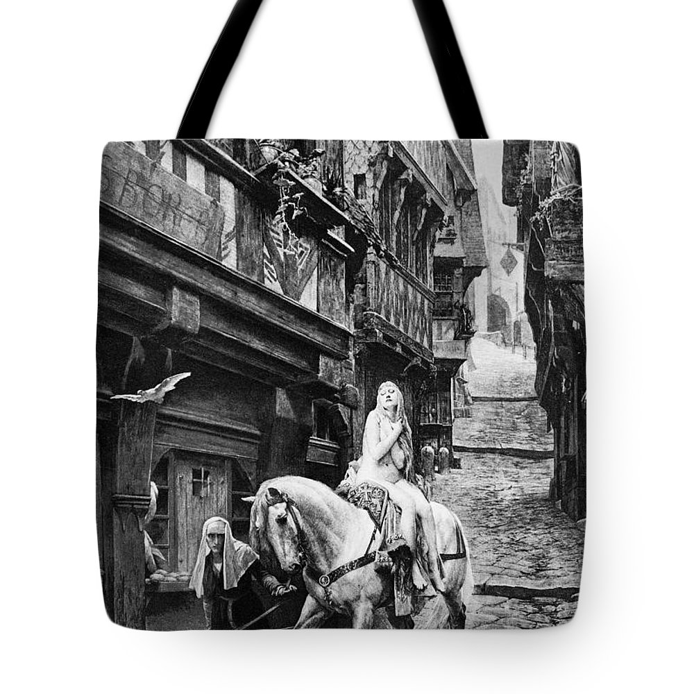 11th Century Tote Bag featuring the photograph Lady Godiva, 11th Century by Granger