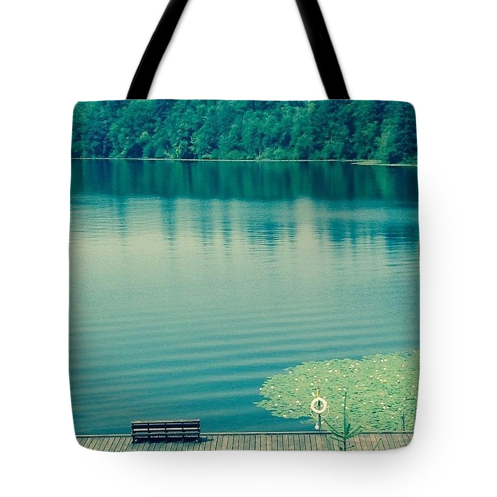 Lake Tote Bag featuring the photograph Lake by Andrew Redford