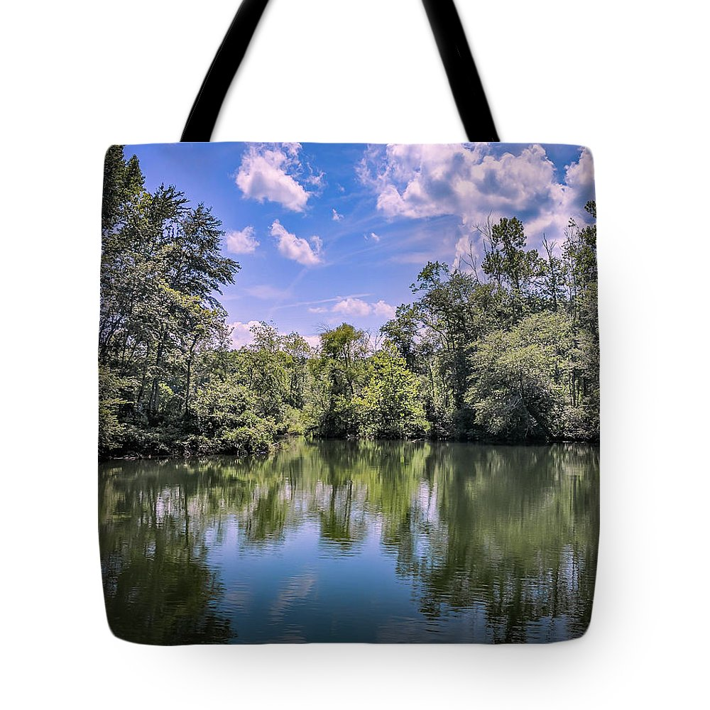 Cove Tote Bag featuring the photograph Lake Cove by Ant Pruitt