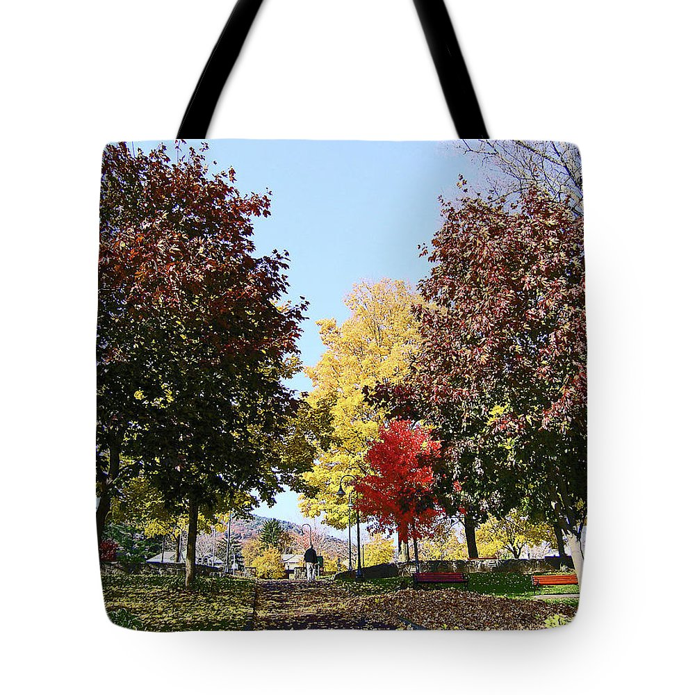 Lake George Ny Tote Bag featuring the photograph Lake George 3 by Joseph F Safin