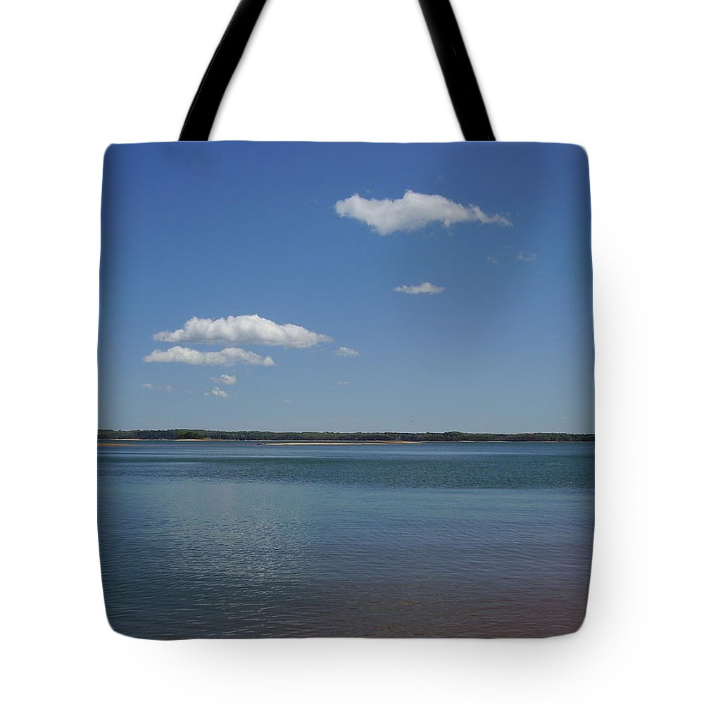 Lake Hartwell Tote Bag featuring the photograph Lake Hartwell by Flavia Westerwelle