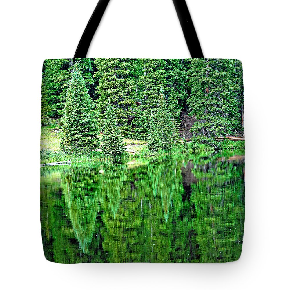 Lake Tote Bag featuring the photograph Lake Irene 12-1 by Robert Meyers-Lussier
