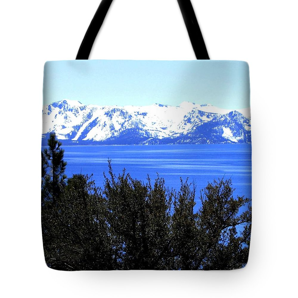 Lake Tahoe Tote Bag featuring the photograph Lake Tahoe by Will Borden