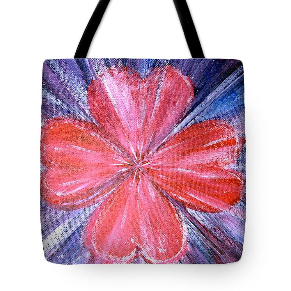 Spiritual Tote Bag featuring the painting Lakshima Essence by Tara Moorman