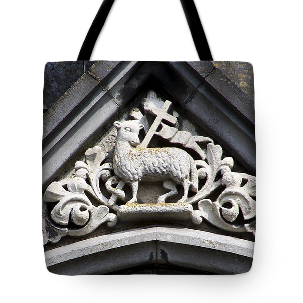 Ireland Tote Bag featuring the photograph Lamb Of God by Teresa Mucha